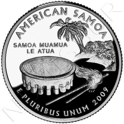 0.25$ EEUU 2009 - American Samoa