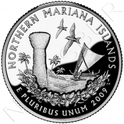 0.25$ EEUU 2009 - Northern Mariana Islands