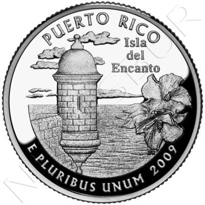 0.25$ EEUU 2009 - Puerto Rico