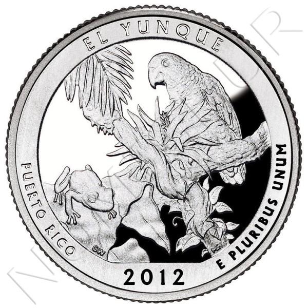 0.25$ USA 2012 - El Yunke
