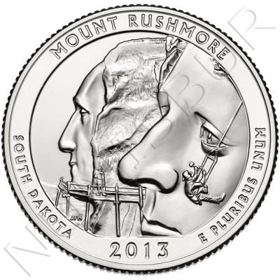 0.25$ EEUU 2013 - Mount Rushmore