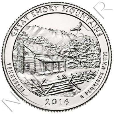 0.25$ EEUU 2014 - Tennessee