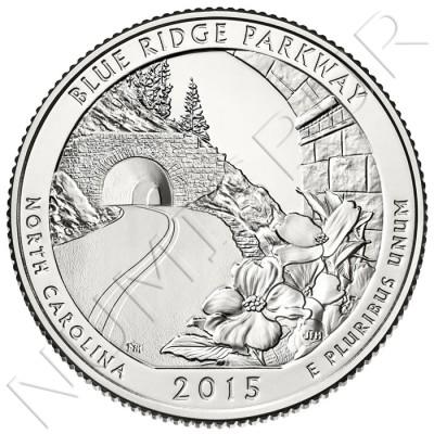 0.25$ EEUU 2015 - Blue Parkway Ridge