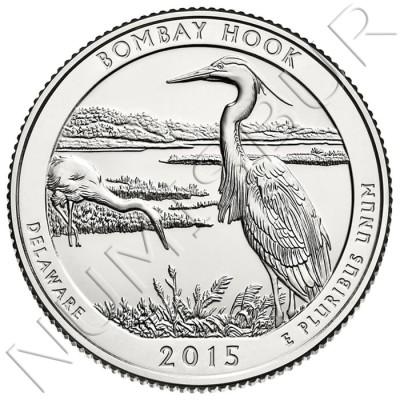 0.25$ EEUU 2015 - Delaware