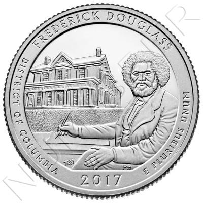 0.25$ EEUU 2017 - Frederick Douglass