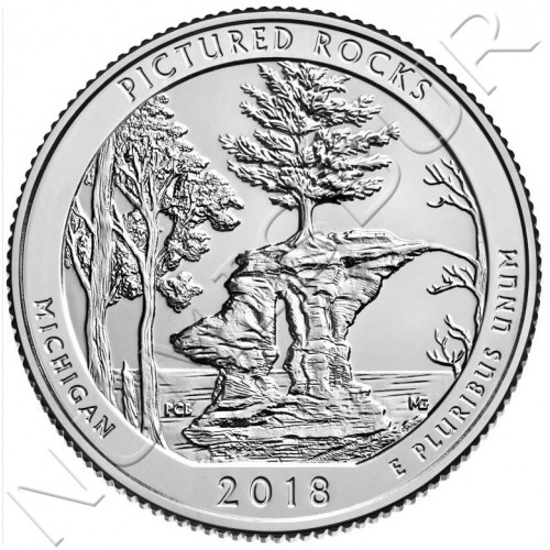 0.25$ EEUU 2018 - Michigan