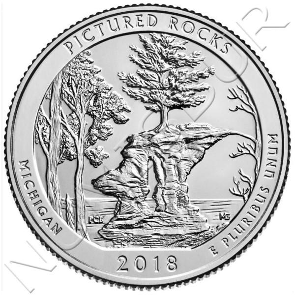0.25$ EEUU 2018 - Michigan