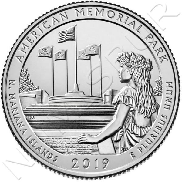 0.25$ USA 2019 - N. Mariana Islands