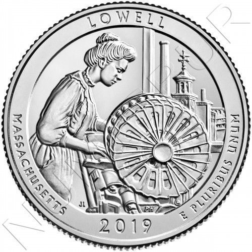 0.25$ EEUU 2019 - Massachusetts