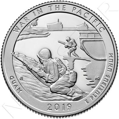 0.25$ USA 2019 - Guam