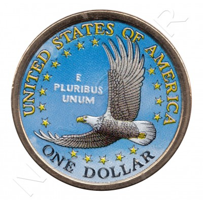 1$ EEUU 2000 - Aguila (COLOR)
