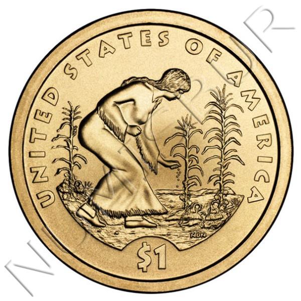 1$ EEUU 2009 - Sembradora