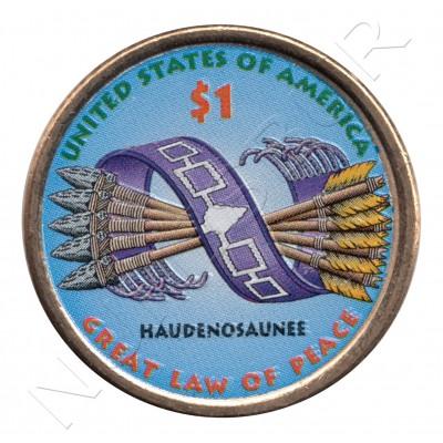 1$ EEUU 2010 - Gran ley de paz (COLOR)