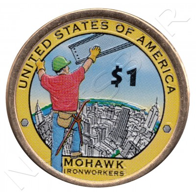 1$ EEUU 2015 - Mohawk (COLOR)