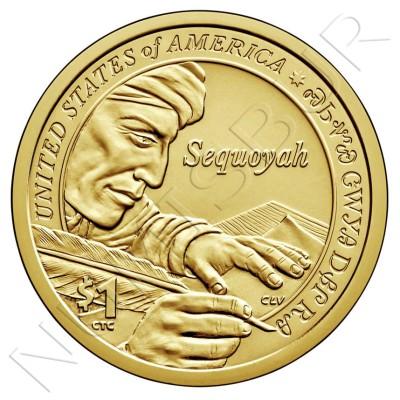 1$ EEUU 2017 - Cherokee Syllabary
