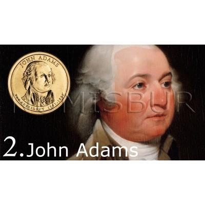 1$ EEUU 2007 - 2º John Adams