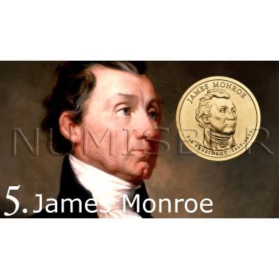1$ EEUU 2008 - 5º James Monroe