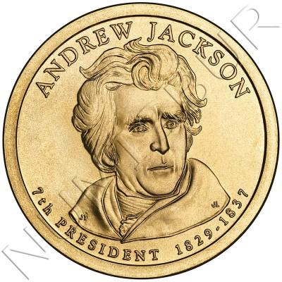 1$ EEUU 2008 - 7º Andrew Jackson