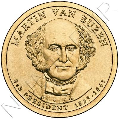 1$ EEUU 2008 - 8º Martin Van Buren
