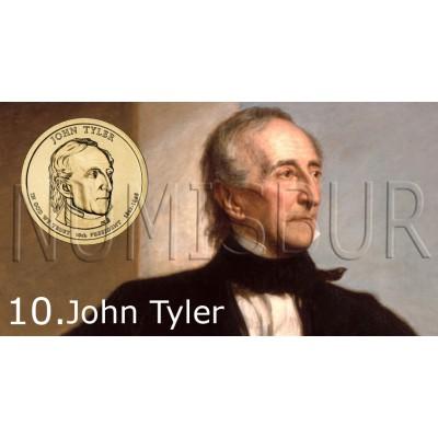1$ EEUU 2009 - 10º John Tyler