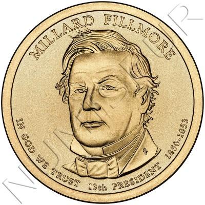 1$ EEUU 2010 - 13º Millard Fillmore