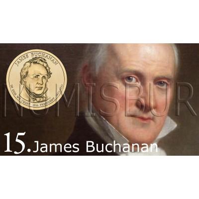 1$ EEUU 2010 - 15º James Buchanan