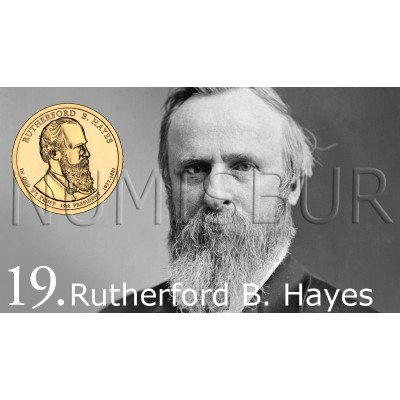 1$ EEUU 2011 - 19º Rutherford B. Hayes
