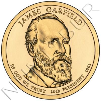 1$ EEUU 2011 - 20º Rutherford B. Hayes