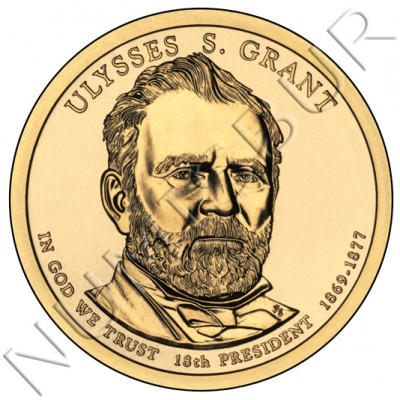 1$ EEUU 2011 - 18º Ulysses S. Grant