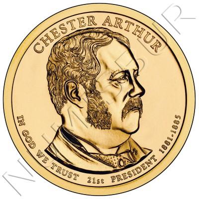 1$ EEUU 2012 - 21º Chester A. Arthur