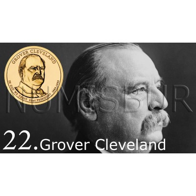 1$ EEUU 2012 - 22º Grover Cleveland