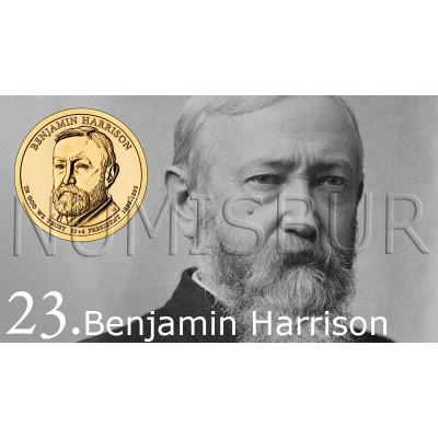 1$ EEUU 2012 - 23º Benjamin Harrison