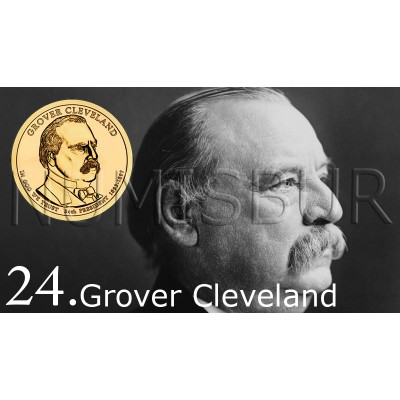 1$ EEUU 2012 - 24º Grover Cleveland