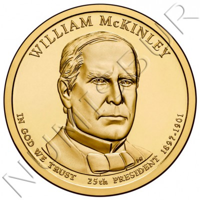 1$ USA 2013 - 25th William McKinley