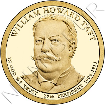 1$ USA 2013 - 27th William Howard Taft