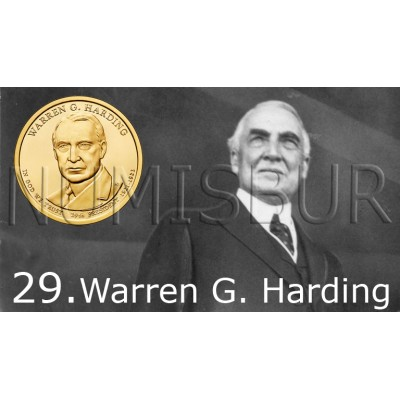1$ USA 2014 - 29th Warren G. Harding