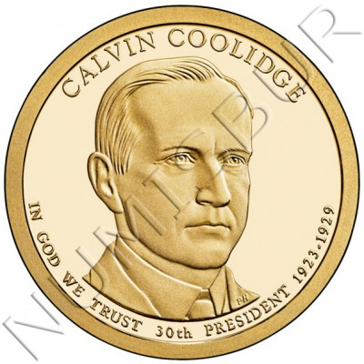 1$ USA 2014 - 30th Calvin Coolidge