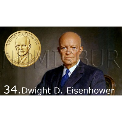 1$ EEUU 2015 - 34º Dwight D. Eisenhower