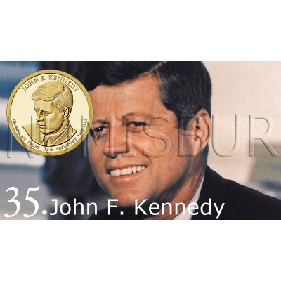 1$ USA 2015 - 35th John F. Kennedy