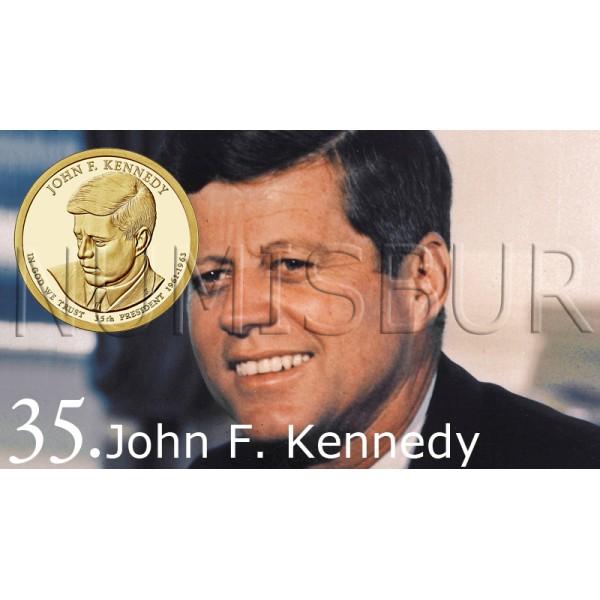 1$ EEUU 2015 - 35º John F. Kennedy