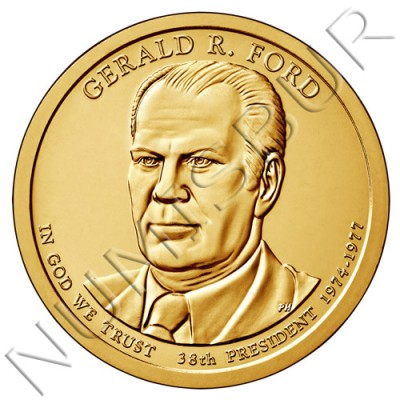 1$ USA 2016 - 38th Gerald Ford
