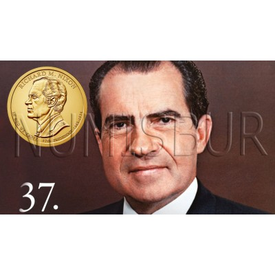 1$ USA 2016 - 37th Richard Nixon