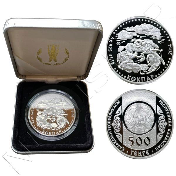 500 tenge KAZAKHSTAN 2014 - Kokpar
