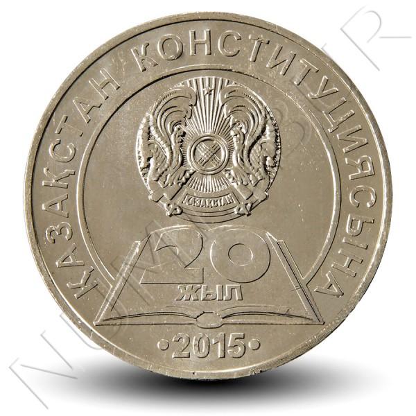 50 tenge KAZAJISTAN 2015 - 20 aniv. de la constitucion