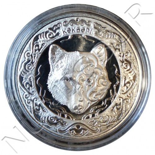 100 tenge KAZAJISTAN 2018 - Kokbori (Blue wolf)