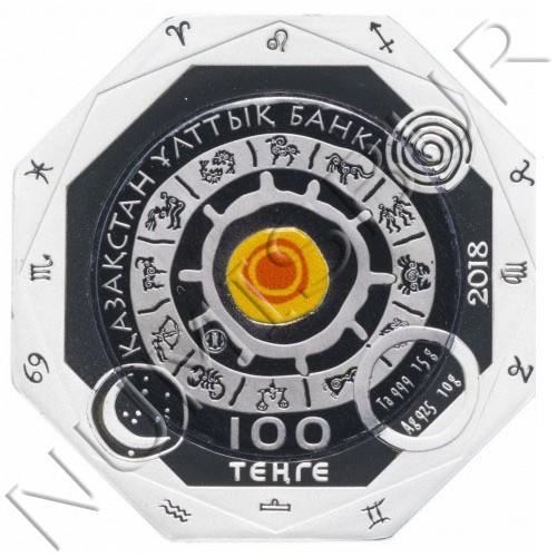 100 tenge KAZAKHSTAN 2018 - CAPRICORN
