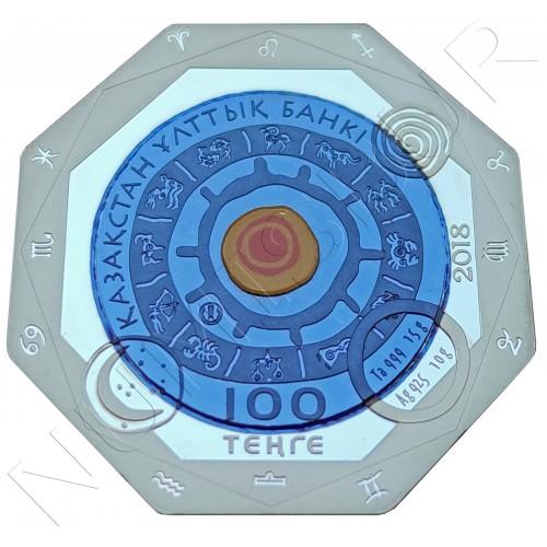 100 tenge KAZAKHSTAN 2018 - GEMINI