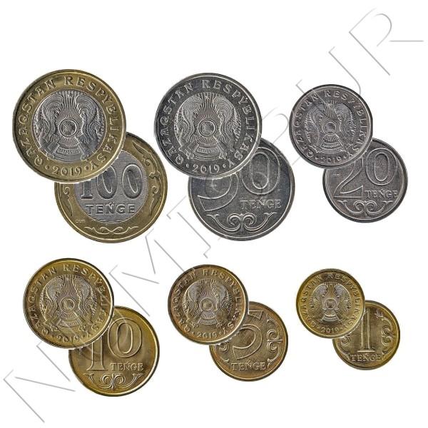 Set KAZKHSTAN 2019 - 6 coins