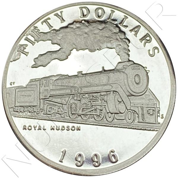 50$ MARSHALL ISLANDS 1996 - Royal Hudson