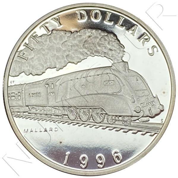 50$ MARSHALL ISLANDS 1996 - Mallard